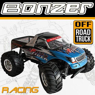 HBX MONSTERTRUCK 4WD BONZER CROSS TIGER BUGGY  READY-TO-RUN RTR AU1 BLAU