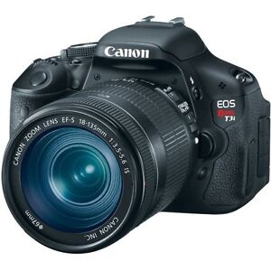 Canon EOS Rebel T3i 18 MP CMOS Digital SLR Camera with EF-S 18-135mm Zoom Lens