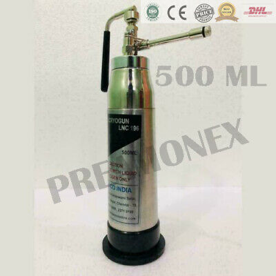 500 Ml Cryo Can N2o Cryo Can Skin Surgery Mini Cryotherapy Spray 4 Nozzles Bhu