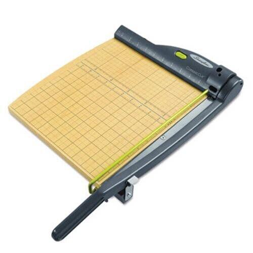 """Swingline Laser Trimmer, 15 Sheets, Metal/Wood Base, 12"""" x 12"""" (SWI9712)"""