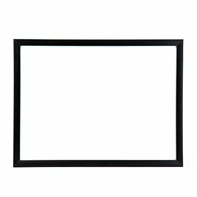 U Brands Magnetic Dry Erase Board 17 X 23 Inches Black Wood Frame