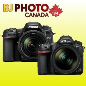 BRAND NEW! NIKON D850 / D7500 / D5300 / D3400 / D7200 AND MORE - KITS WITH FULL WARRANTY