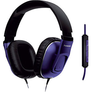 PANASONIC HT470 Full Size Headphones Mic'd