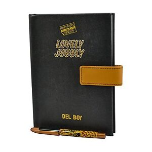 Only Fools and Horses Del Boy's Little Black Book & Pen - DISCOUNTED