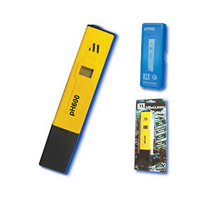 Milwaukee Ph600-aq Ph Meter Pocket Sized