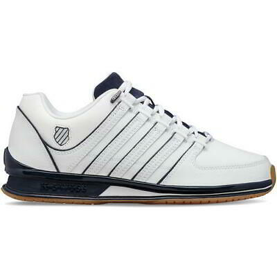 K Swiss Rinzler SP Mens Classic White Gum Lace Up Trainers Shoes Size 7-12