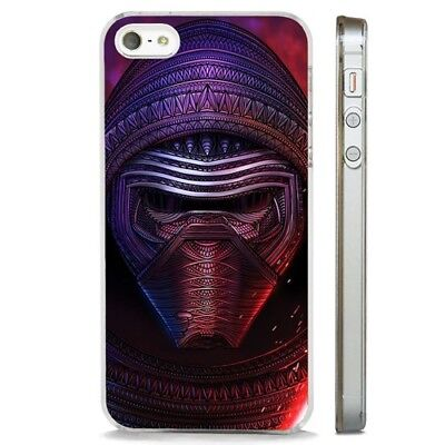 Kylo Ren Awesome Star Wars Art CLEAR PHONE CASE COVER fits iPHONE 5 6 7 8 X