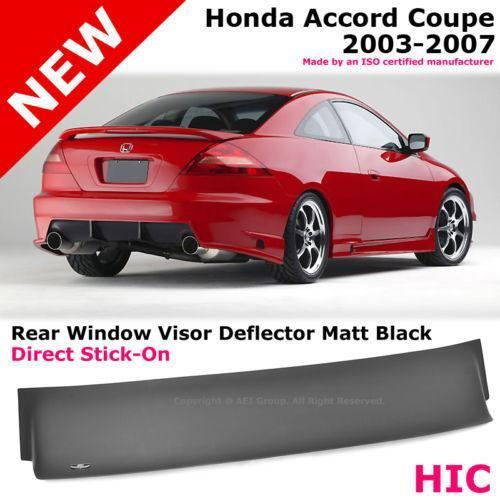 Honda accord rear window spoiler ebay for 2002 honda accord power window problems