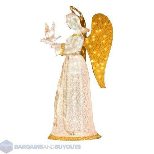 Lighted christmas angel ebay