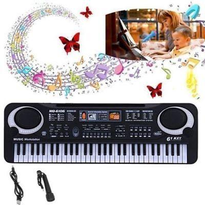 61 KEYS MUSIC DIGITAL MUSICAL KEYBOARD TEACHING KEY BOARD BEGINNER CHILD