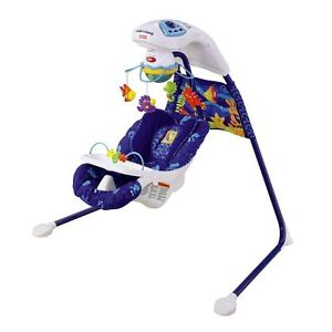 Fisher Price Cradle Swing-Positions,Harness,Speeds,Music,moblile