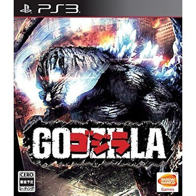 Used PS3 Godzilla Japan Import