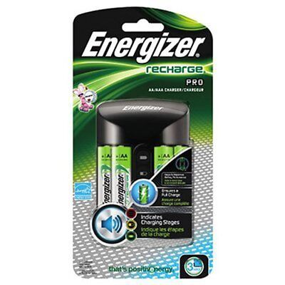 Energizer AA/AAA Charger with 4 NiMH AA Cell Rechargeable Batteries Each for sale  Shipping to India