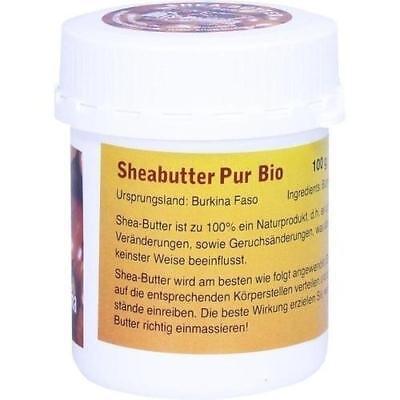 Karite-butter (Sheabutter Bio Pur unraffiniert 100g Karite Butter Shea)