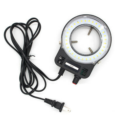 32pcs Led Adjustable Ring Light Illuminator Lamp For Stereo Zoom Microscope Us