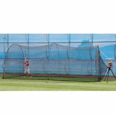 Slider Pitching Machine & PowerAlley Batting Cage