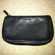 Coach Leather Makeup Bag
