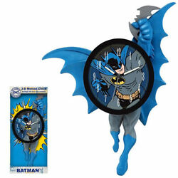 NEW IN BOX DC Comics - Batman 3D Motion Wall Clock 14 - Mathematics & Counting