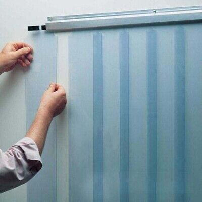 Strip Curtain Door 36 X 84 6 Nsf Vinyl Pvcplastic Walk In Coolerfreezer