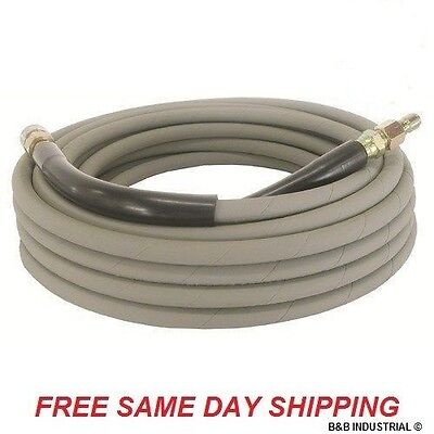 50 Foot Non-marking Pressure Washer Hose - 4000 Psi 50 Ft. Length 50 Gray