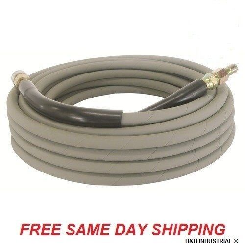 50 Foot Non-Marking Pressure Washer Hose - 4000 PSI 50 ft. Length 50