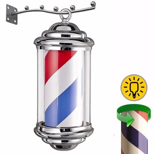New & Boxed Mini Barber Pole Light Shop Sign For The