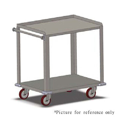 Carter-hoffmann Tt84 Stacking Tray Transport Cart W 96 Tray Straps And Buckles