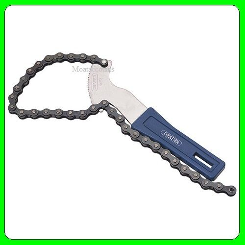 Draper Hand Chain Oil Filter Remover Wrench Tool [77584]