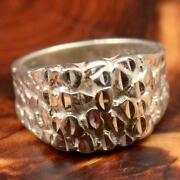 Vintage Sterling Silver Mens Rings