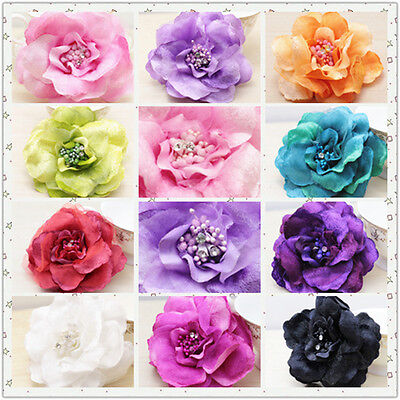 FABRIC FLOWER, LACE, BROOCH, Wrist Flower, Hairband Flower CORSAGE (Fabric Flower Corsage)