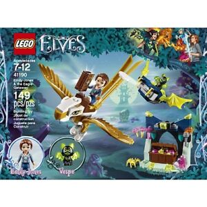 LEGO ELVES EMILY JONES BOXED SET - NEW! AWESOME DETAILS! WOW!!!!