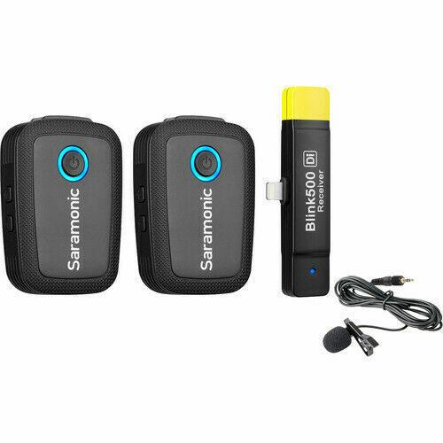 Saramonic Blink 500 B4 2-Person Wireless Lavalier Microphone System - OPEN BOX