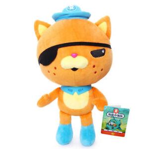1x Octonauts Cartoon Character 8'' kwazii Soft Cat Plush Toy Quack Doll Kid Toy