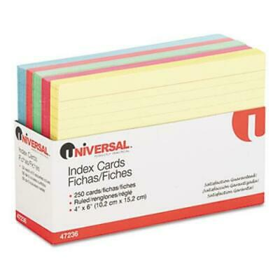Universal Office Products 47236 Index Cards 4 X 6