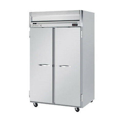 Beverage Air Hf2hc-1s Solid Door Two-section Reach-in Freezer