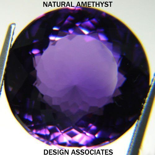 AFRICAN AMETHYST ROUND CUT 6 MM ALL NATURAL