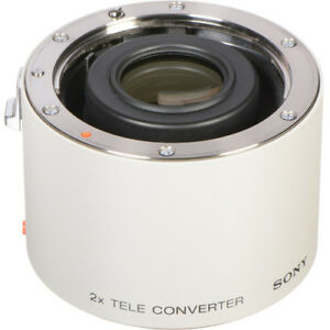 Sony 2X teleconverter For A mount not E