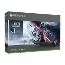 Xbox One X 1TB Star Wars Jedi Bundle Console - Xbox One X Console And Controller