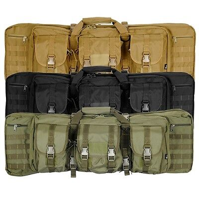 """Lancer Tactical CA-345 36"""" MOLLE Double Carbine Airsoft Rifl"""
