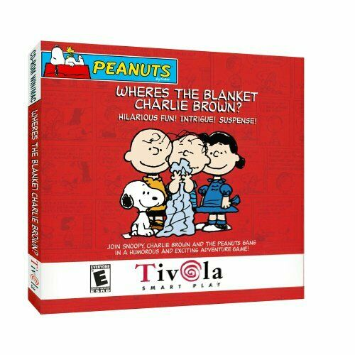 Computer Games - Peanuts Where's the Blanket Charlie Brown? PC Games Windows 10 8 7 XP Computer