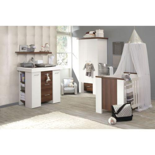 Saplings Kirsty Nursery Furniture Set White