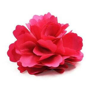 Rose hair clip ebay red rose hair clips mightylinksfo