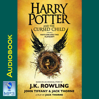 Harry Potter  Us   8   The Cursed Child   Jk Rowling   Mp3 Cd