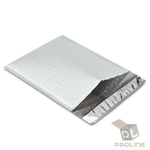 50 pcs #0 Poly Bubble Padded Envelopes Self-Sealing Mailers 6X10 (Inner 6x9)