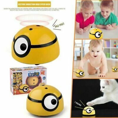 Minions Intelligent Escaping Toy Cat Dog Walk Interactive Toys Kid/Pet baby