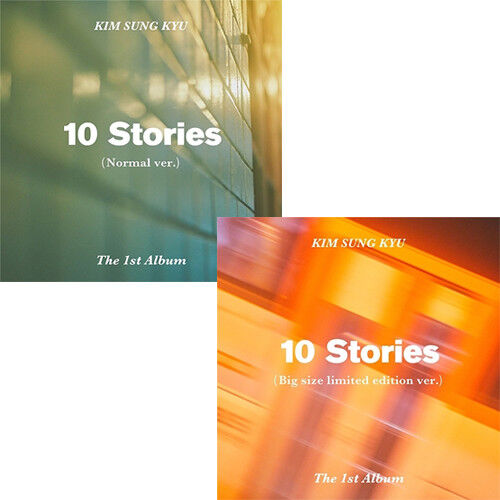 Kim Sung Kyu 10 Stories 1st Album Normal Cd Poster Photobook Card Etc Sealed Ebay
