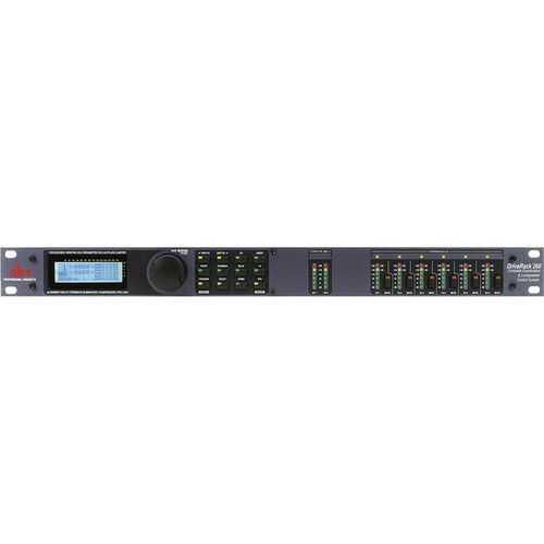 DBX DriveRack 260 2 x 6 Loudspeaker Management System
