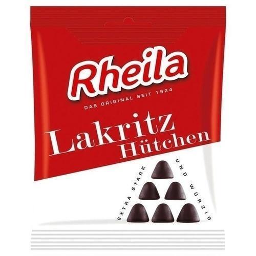 RHEILA Lakritz Hütchen Gummidrops mit Zucker 90 g