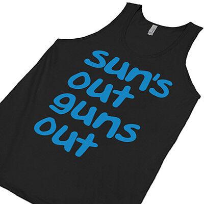 Sun's Out Guns Out Tanktop 21 Street 22 Jump Movie Shirt suns TANK TOP (Suns Out Guns Out Shirt Tank Top)