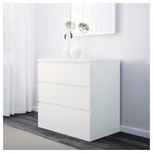 Must go ikea dresser and bed side table